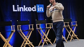 LinkedIn stock bucks week's downward trend among social media companies after solid results
