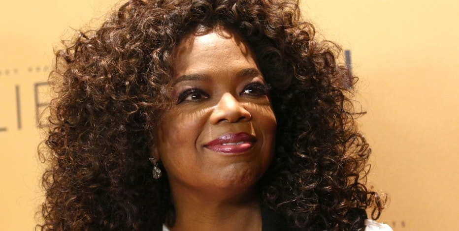 "Oprah Winfrey attends the premiere of the Oprah Winfrey Network's (OWN) documentary series ""Belief"" in New York on Oct. 14, 2015."