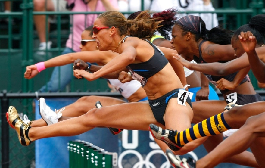 Lolo Jones Hurdles, track and field