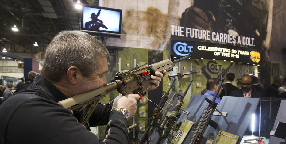 Colt rifle at SHOT Show FBN