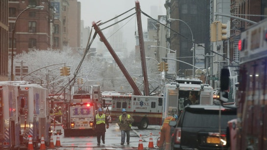 Huge Construction Crane Collapses in Manhattan, Kills One