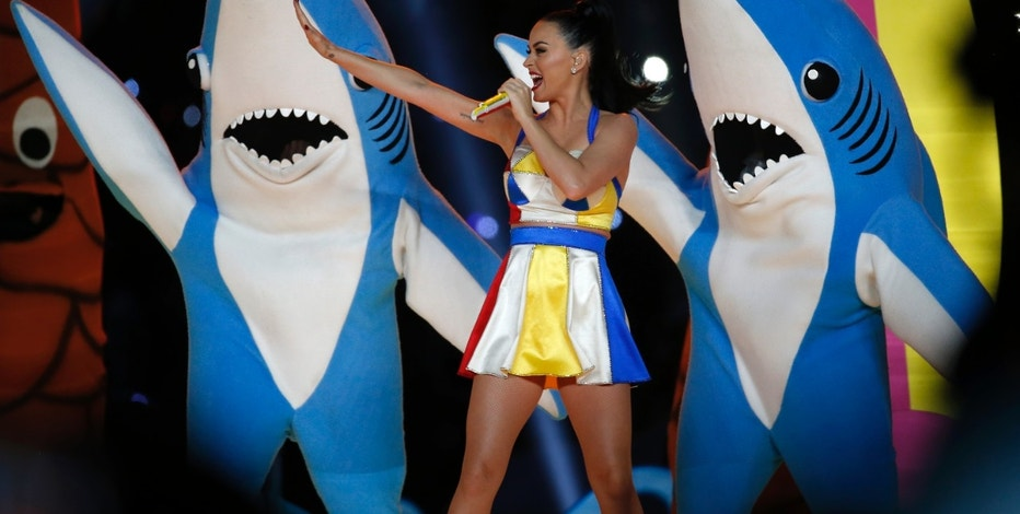 Katy Perry Super Bowl FBN