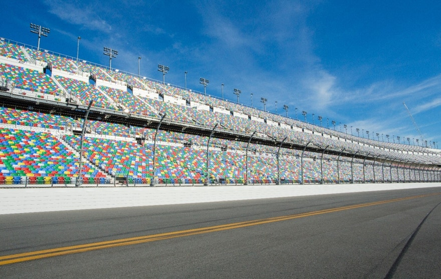 Daytona track and grandstands FBN