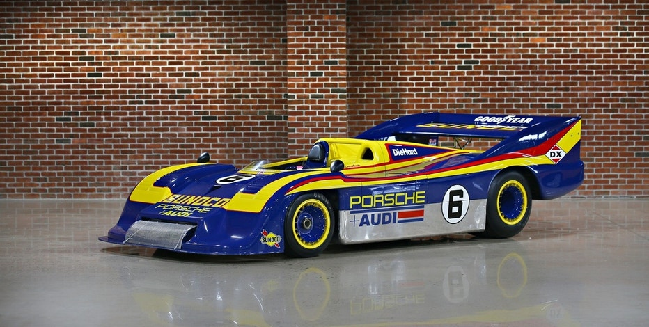 Jerry Seinfeld sold this 1973 917/30 Porsche Can-Am Spyder from his collection.