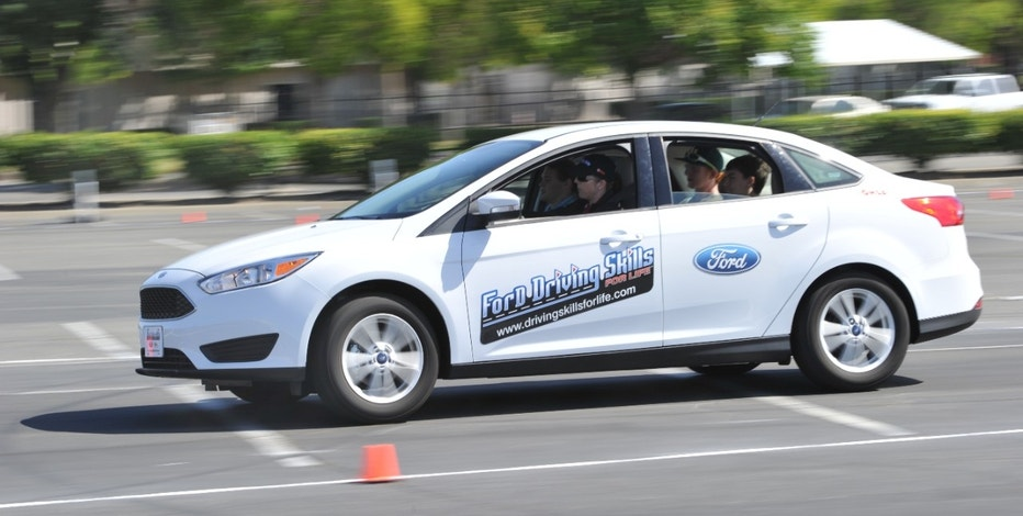 Ford driving school summer camp FBN