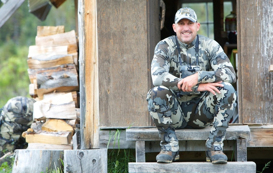 Kuiu Founder and President Jason Hairston, a former NFL linebacker, built a new career designing and selling high-performance hunting gear.