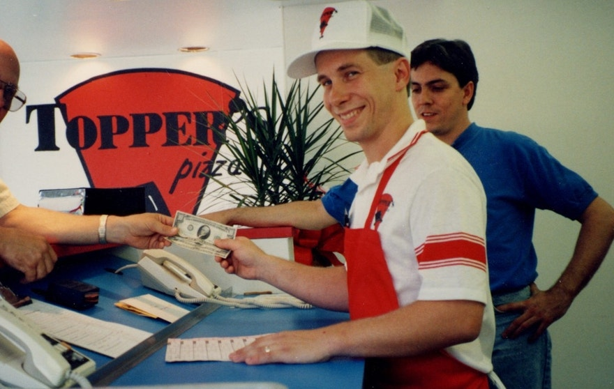 Toppers Pizza Early Days FBN