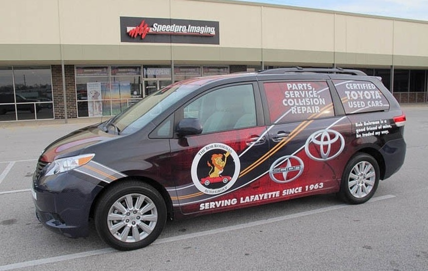Speedpro Imaging Speeds Ahead With Vehicle Wraps And
