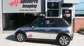 SpeedPro Imaging Speeds Ahead with Vehicle Wraps and Graphic Designs