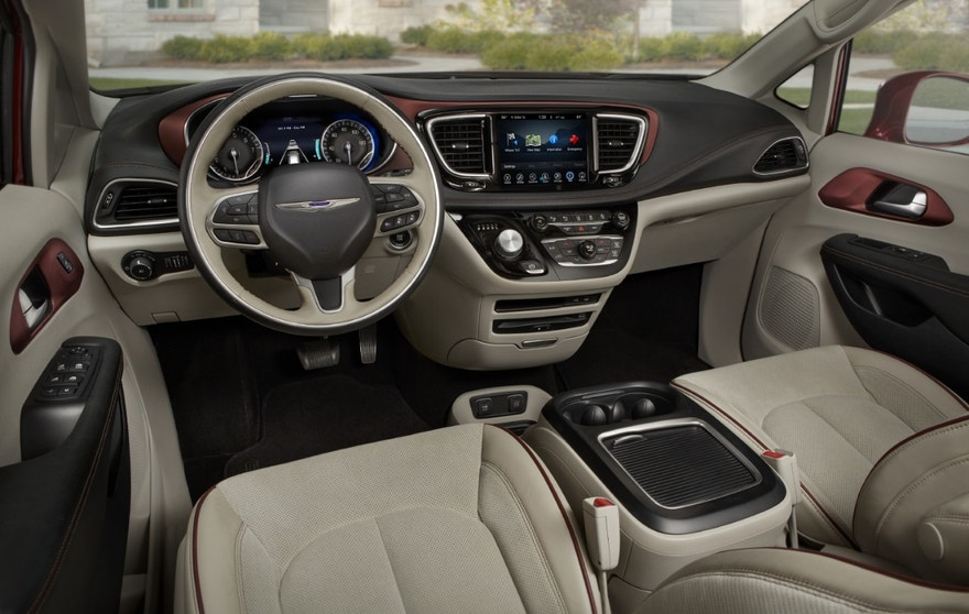 Chrysler Pacifica front seats FBN