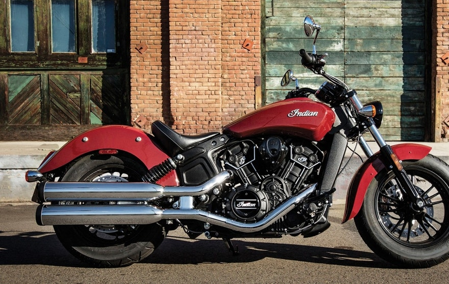 The 2016 Indian Scout Sixty, another new model from the brand, is the most affordable Indian motorcycle with a starting price of $8,999.