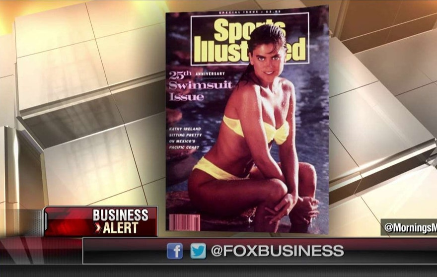 Kathy Ireland Swim Suit Issue Cover