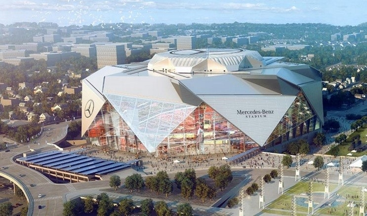 Falcons ceo new stadium 39 s cheap eats will change the for Mercedes benz atlanta seating chart