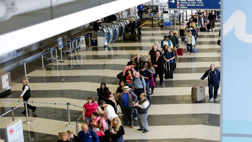 Epic Lines at Airport Security