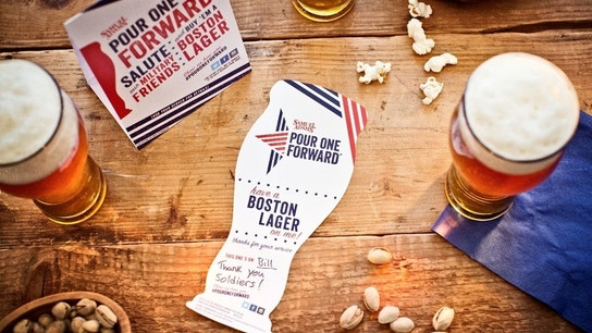 Sam Adams Pours a Cold One for Military Members