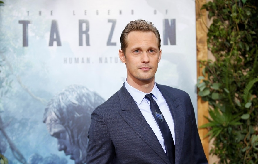 "Cast member Alexander Skarsgard poses at the premiere of the movie ""The Legend of Tarzan"" in Hollywood, California, June 27, 2016. REUTERS/Danny Moloshok - RTX2ILBU"