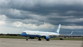 Obama Gives Clinton a Pricey Lift on Air Force One