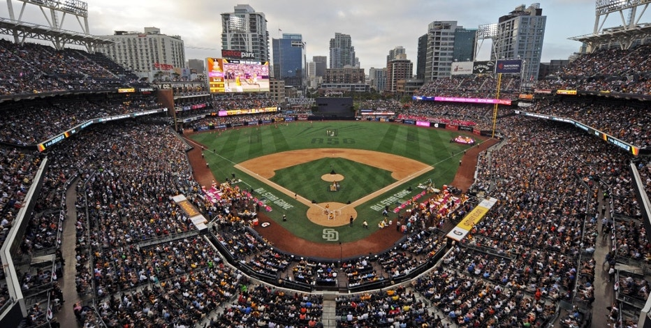 A general view during the All Star Game Home Run Derby at Petco Park.