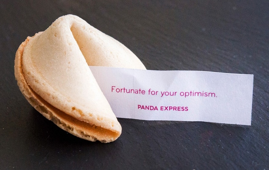 fortune cookie, panda express