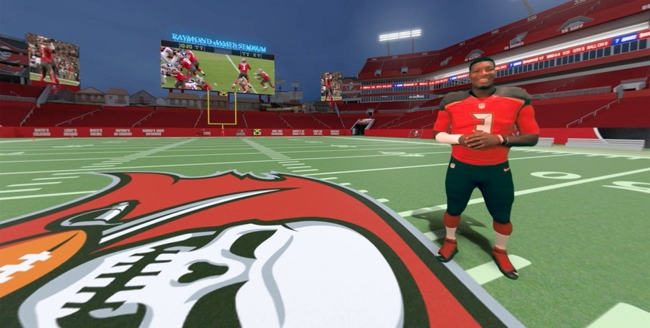 A look inside the Tampa Bay Buccaneers' virtual-reality tour of the newly renovated Raymond James Stadium. The tour is hosted by quarterback Jameis Winston.