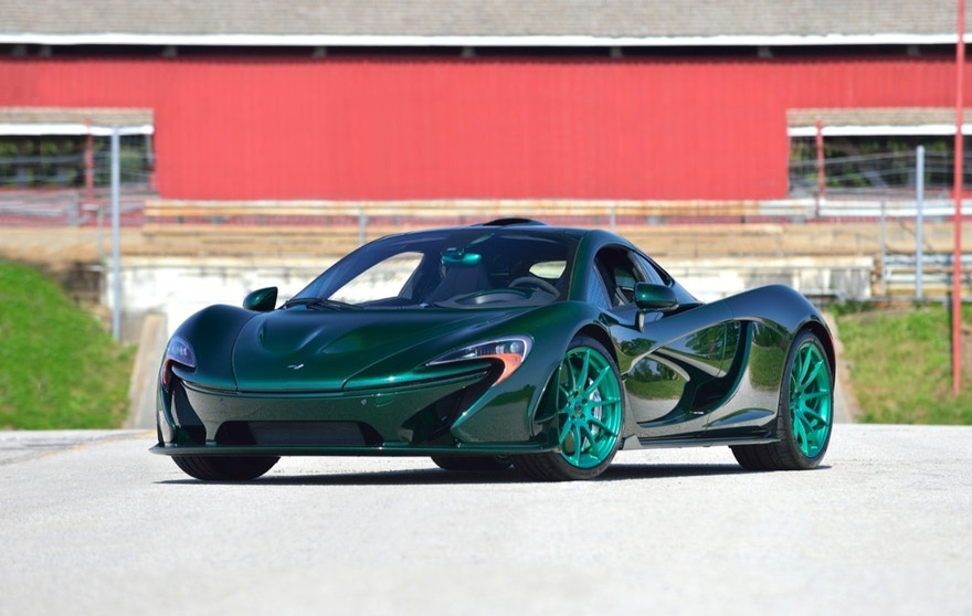 Mecum expects this 2014 McLaren P1 to sell for $2.5 to $3 million when it crosses the auction block at Monterey Car Week. The McLaren P1 is one of three rare hybrid supercars that Mecum will feature at the auction.