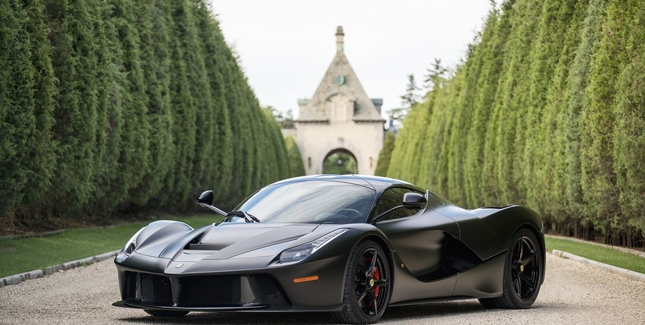 One of the highlights of Mecum Auctions' 2016 Monterey sale is a 2014 Ferrari LaFerrari, one of just 499 LaFerraris made by the exclusive sports-car brand.