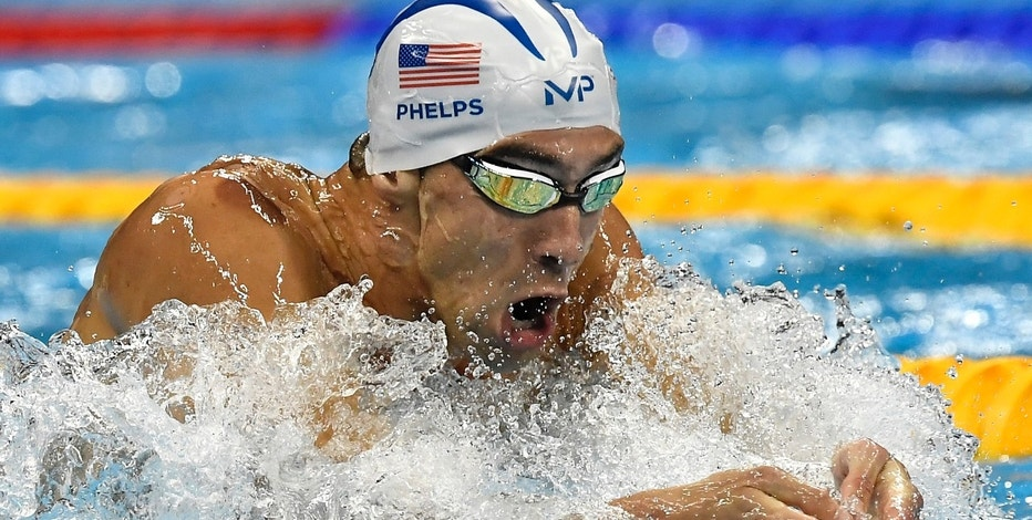 United States' Michael Phelps competes in a men's 200-meter individual medley heat during the swimming competitions at the 2016 Summer Olympics, Wednesday, Aug. 10, 2016, in Rio de Janeiro, Brazil. (AP Photo/Martin Meissner)
