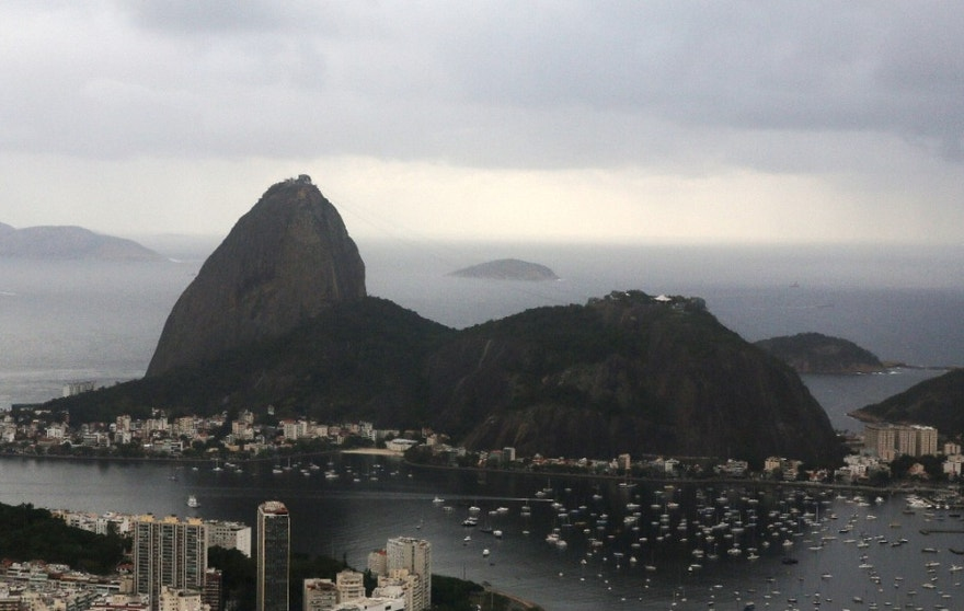 The Sugar Loaf mountain is pictured ahead of the 2016 Rio Olympics, Rio de Janeiro, Brazil, July 28, 2016. REUTERS/Paulo Whitaker - RTSK6DM