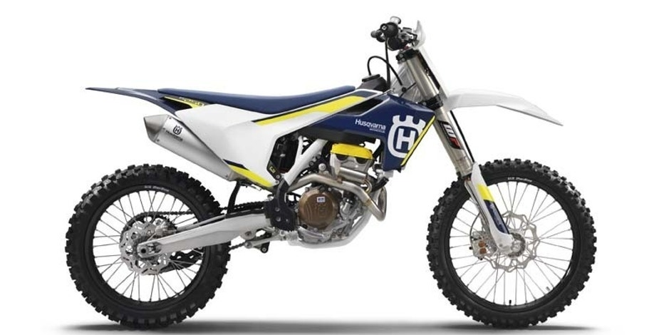 This undated product image released by the Consumer Product Safety Commission shows 2016 Husqvarna FC 250 Competition/Closed Course motorcycle.  The firm has received five reports of the rod cracking. No injuries have been reported. Consumers should immediately stop using the recalled motorcycles and contact an authorized KTM or Husqvarna Motorcycles dealer to schedule a free repair. ( Consumer Product Safety Commission via AP)