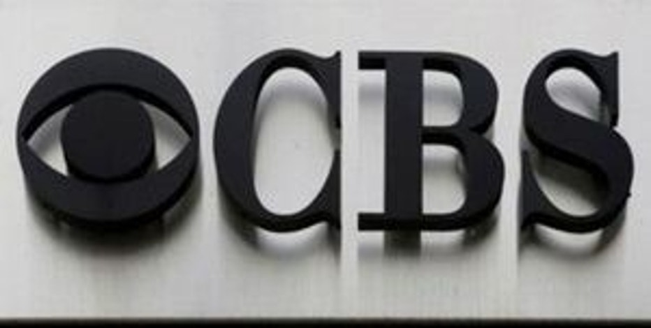 "The CBS ""eye"" and logo are seen outside the CBS Broadcast Center on West 57th St. in Manhattan, New York, U.S. on April 29, 2016.  REUTERS/Brendan McDermid/File Photo"