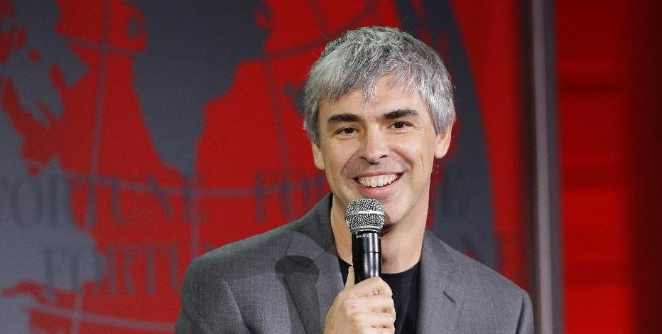 FILE- In this Nov. 2, 2015, file photo, Alphabet CEO Larry Page speaks at the Fortune Global Forum in San Francisco. Google has been thriving since adopting Alphabet Inc. as its corporate parent in 2015, underscoring how much the company still depends on digital advertising despite spending heavily on quirky projects in search of another technological jackpot. Page predicted that separating the smaller operations from the massive search-and-advertising business would spur innovation by fostering a more entrepreneurial atmosphere. But that hasn't happened in Alphabet's first year. (AP Photo/Jeff Chiu, File)