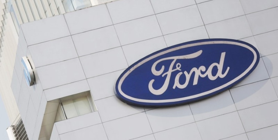A Ford logo is pictured at a store of the automaker, in Mexico City, Mexico, April 5, 2016. REUTERS/Edgard Garrido/File Photo