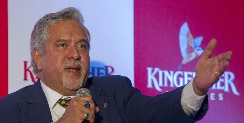 Kingfisher Airlines Chairman Vijay Mallya speaks to the media during a news conference in Mumbai November 15, 2011. REUTERS/Vivek Prakash/Files