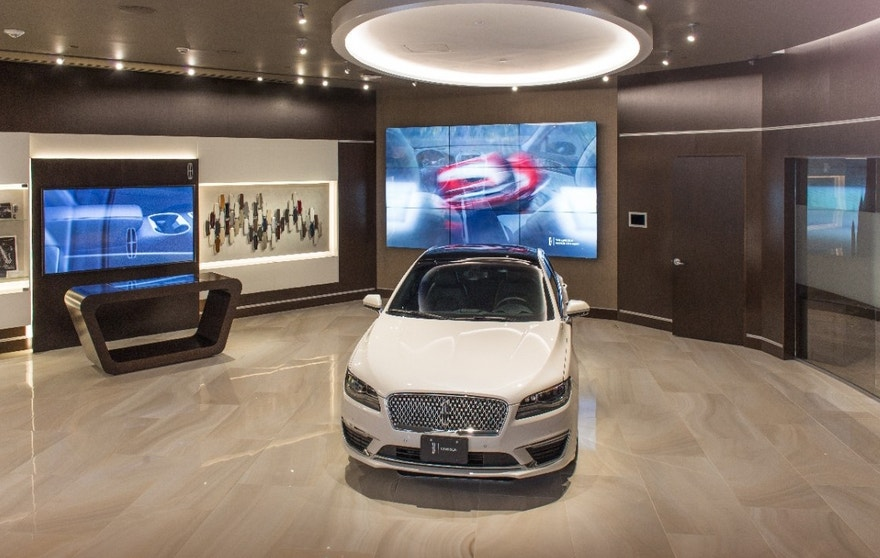 Lincoln opened its first Experience Center in Newport Beach, Calif.