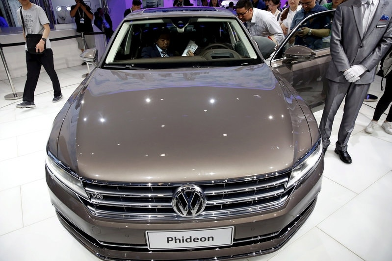 volkswagen challenges sister brand audi with new china only model fox business. Black Bedroom Furniture Sets. Home Design Ideas