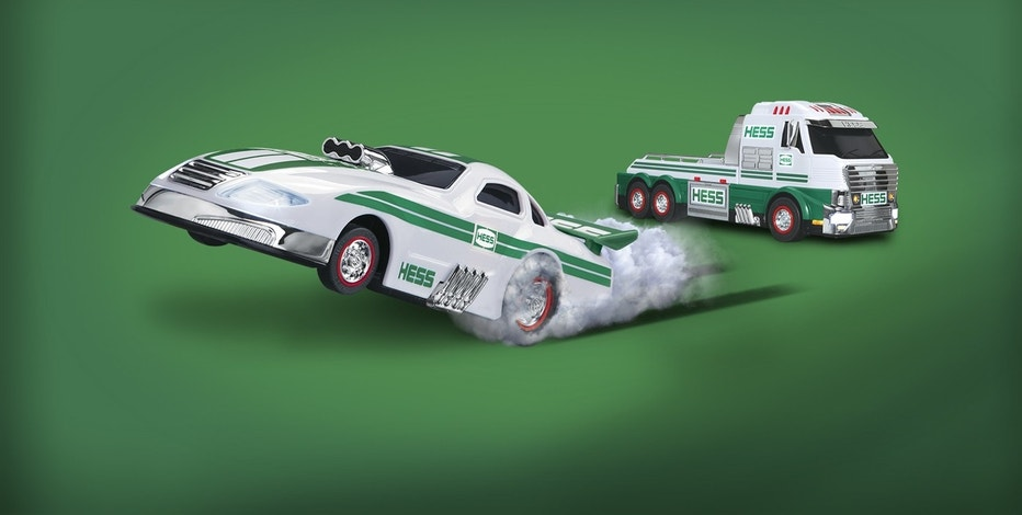 The 2016 Hess Toy Truck and Dragster is available for purchase online starting Nov. 1.
