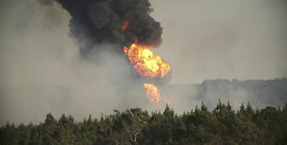 Colonial Pipeline Fire  Reuters