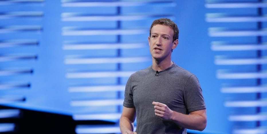 "FILE- In this April 12, 2016, file photo, Facebook CEO Mark Zuckerberg speaks during the keynote address at the F8 Facebook Developer Conference in San Francisco. CEOs of major companies are taking stands about the results of the November 2016 U.S. election, a departure from the traditional model of not mixing politics with business that the major brands have long espoused. Zuckerberg said ""progress does not move in a straight line."" (AP Photo/Eric Risberg, File)"
