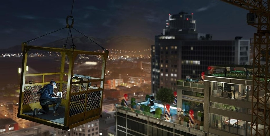 "This image released by Ubisoft shows a scene from the video game, ""Watch Dogs 2."" (Ubisoft via AP)"