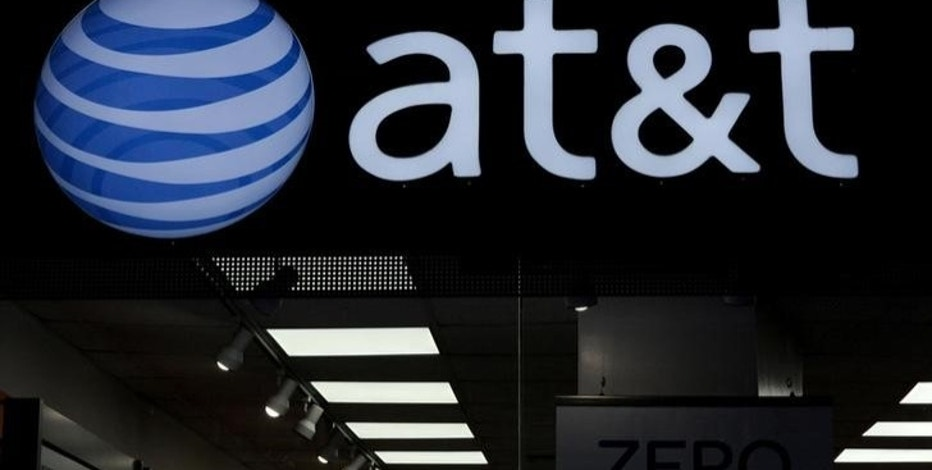 An AT&T logo is seen at an AT&T store in New York City, October 23, 2016. REUTERS/Stephanie Keith