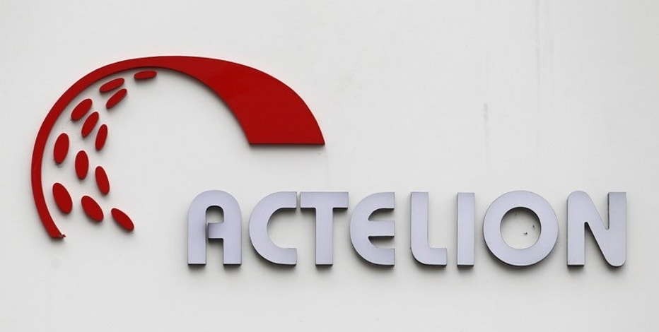 A logo is seen on Swiss biotech group Actelion Headquarters in Allschwil, Switzerland, April 23, 2011.  REUTERS/Christian Hartmann/File Photo