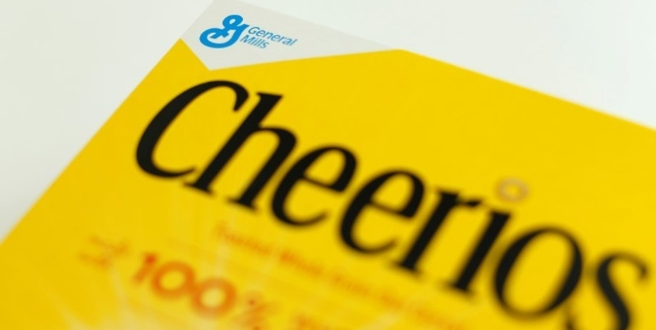 A box of Cheerios breakfast cereal made by General Mills is shown in this illustration photograph taken in Encinitas, California, U.S. June 27, 2016.        REUTERS/Mike Blake/File Photo