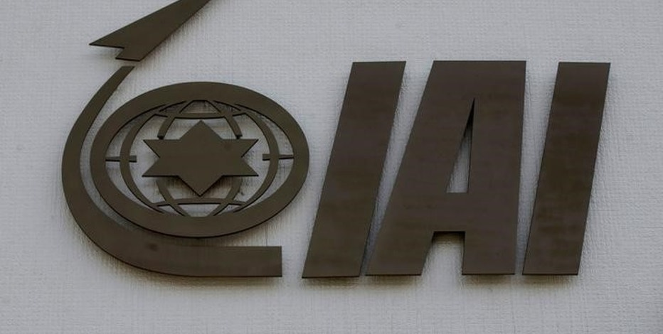 The logo of state-owned Israel Aerospace Industries (IAI), the country's biggest defence contractor, is seen at their offices next to Ben Gurion International airport, near Or Yehuda, Israel February 27, 2017. REUTERS/Baz Ratner