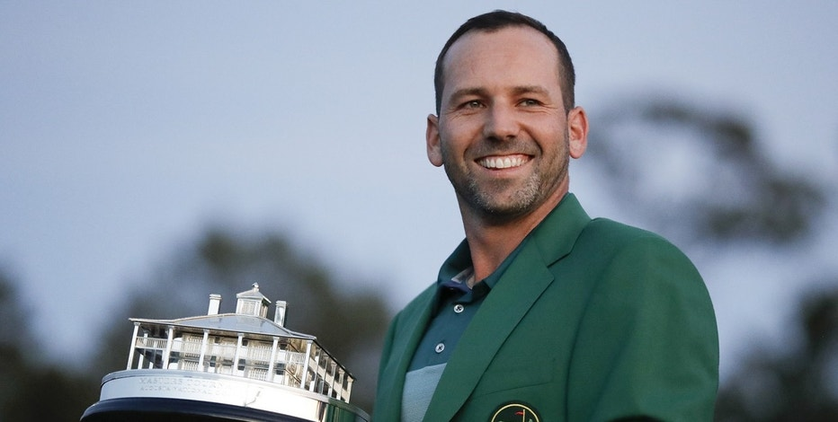 Sergio Garcia slays his major demons with triumph at the Masters