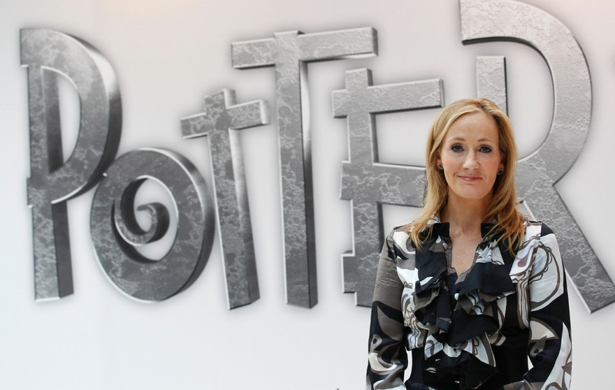 British author JK Rowling, creator of the Harry Potter series of books, poses during the launch of new online website Pottermore in London June 23, 2011.