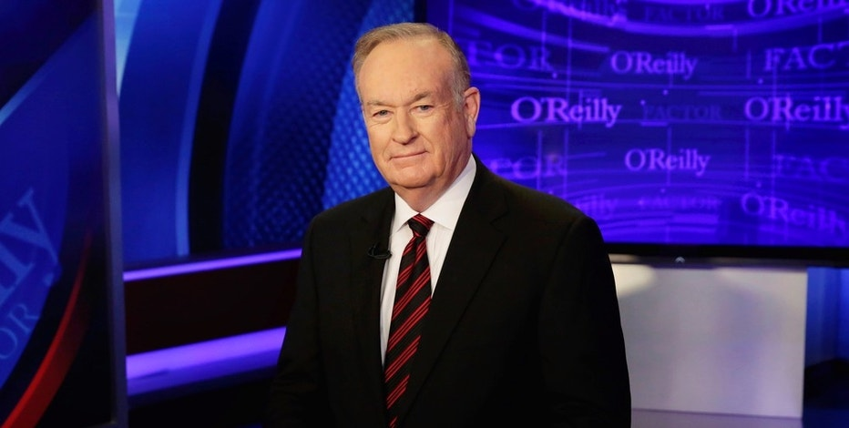 "Host Bill O'Reilly of ""The O'Reilly Factor"" program, on the Fox News Channel, poses for photos, in New York, Thursday, Oct. 1, 2015. (AP Photo/Richard Drew)"