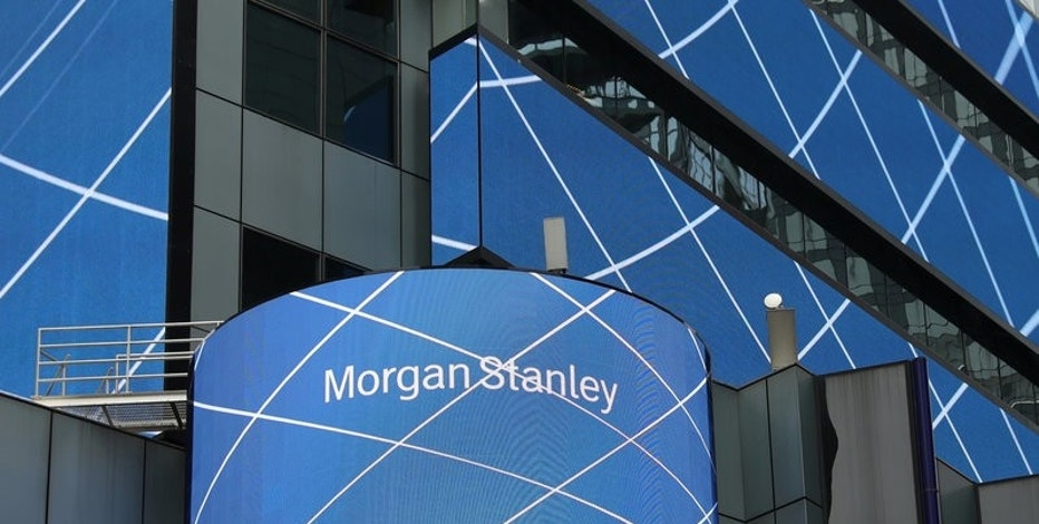 Morgan Stanley posts strong 1Q profit, helped by trading