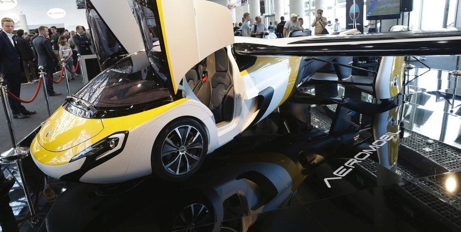 Slovakian company unveils US$1.3M flying car