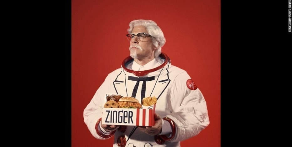 KFC Recruits Hollywood's Rob Lowe to Launch Zinger Sandwich