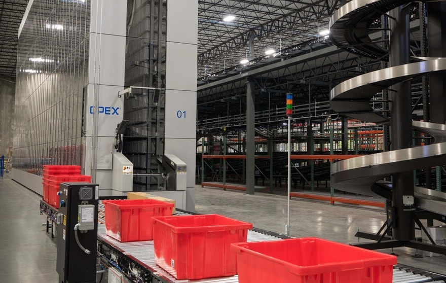 Boxed's first fully-automated fulfillment center in New Jersey. (Boxed)